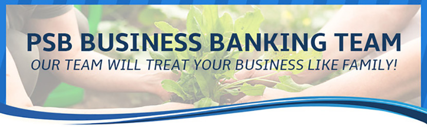 Our PSB Business Banking Banner