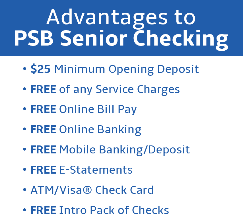 Provident State Bank - Senior Checking